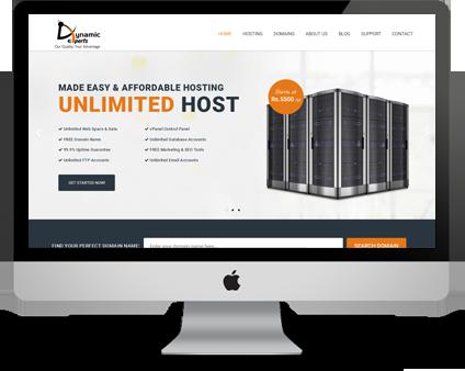 Unlimited Web Hosting | Web Hosting In Pakistan – Dynamic
